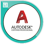 AutoCAD Certified Professional certification