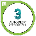 Autodesk 3ds Max Certified User certification