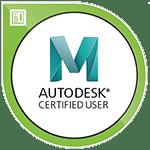 Autodesk Maya Certified User certification