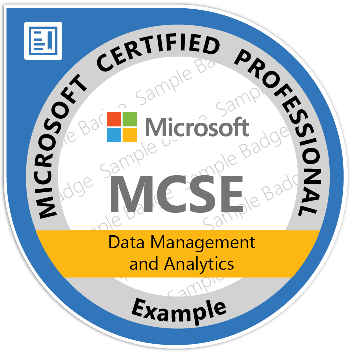 MCSE: Data Management and Analytics certification